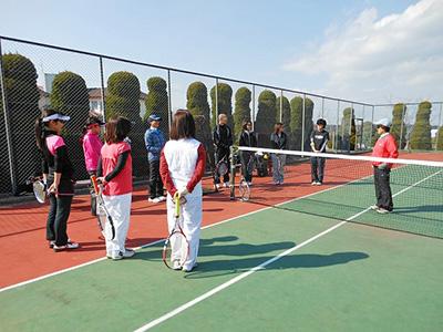 テニスまつりinながら 初心者のためのテニス教室-1